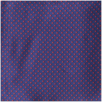 Purple Pin Dot Silk Pocket Square