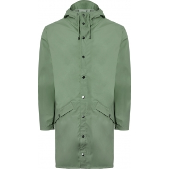Rains Long Jacket Green 12020303
