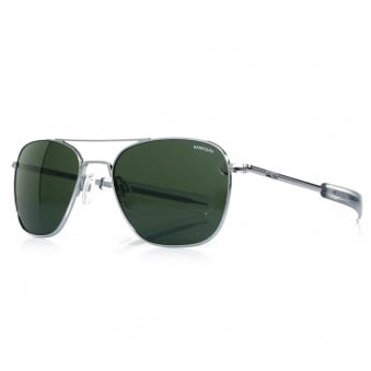 Randolph Aviator Bright Chrome Sunglasses AF53614