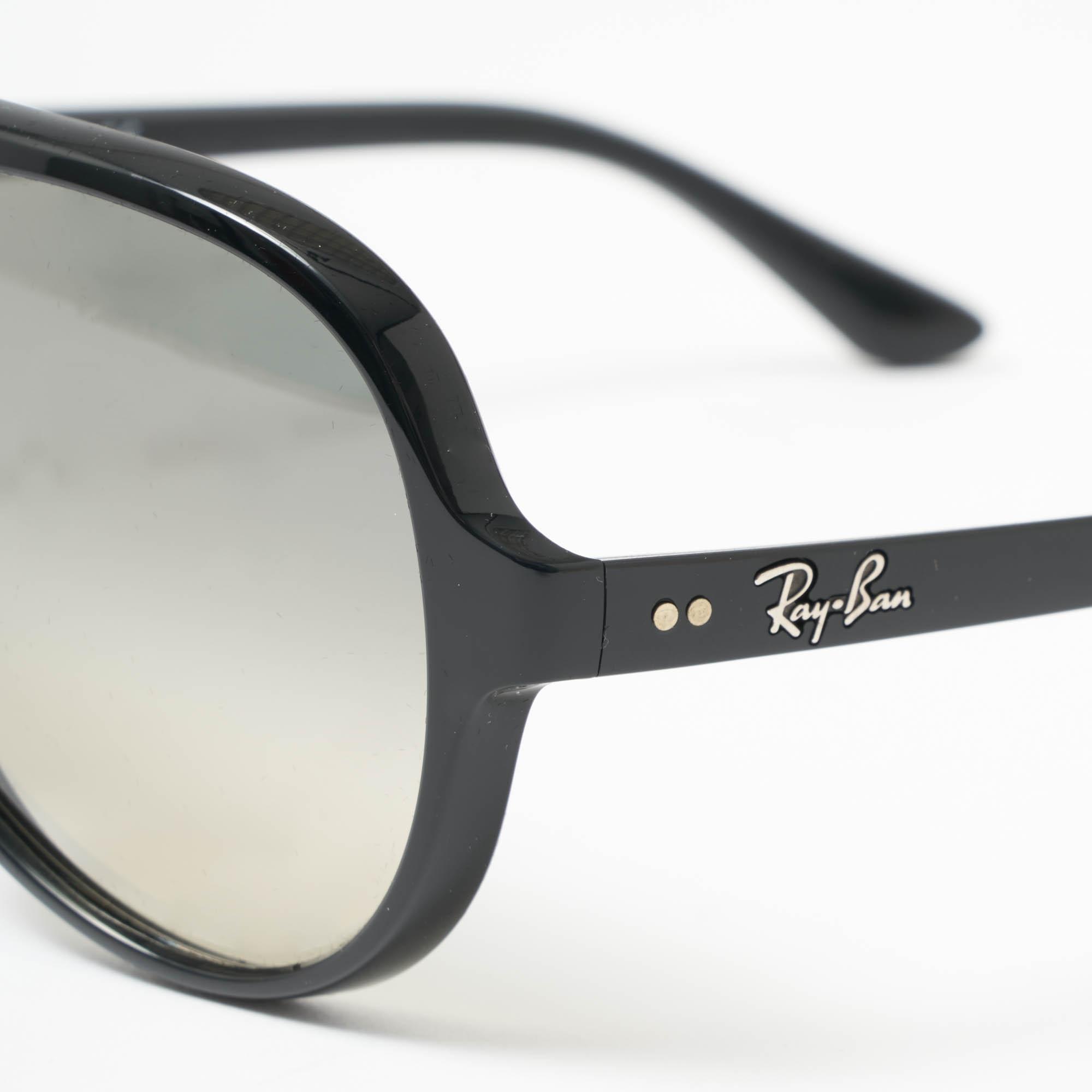 7b4b8d31ff Black Cats 5000 Classic Sunglasses - Light Grey Gradient Lenses