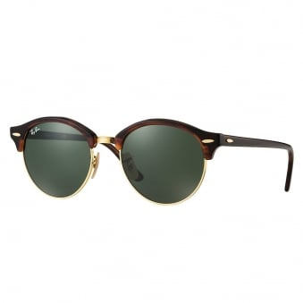 Ray-Ban Clubround Tortoise Sunglasses RB4246 990