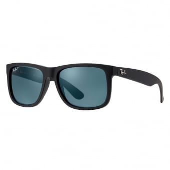 Ray-Ban Justin Classic Polarized Black Sunglasses RB4165 622/2V