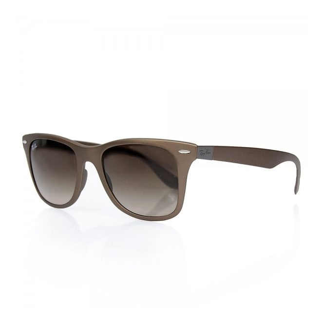 Ray Ban Lite Force Brown Sunglasses RB4195