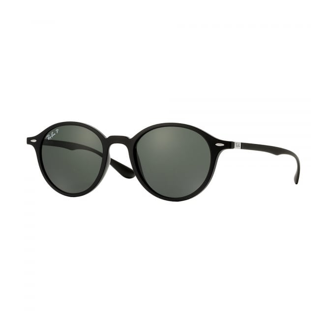 Ray Ban Ray-Ban Round Liteforce Black Sunglasses RB4237 601585