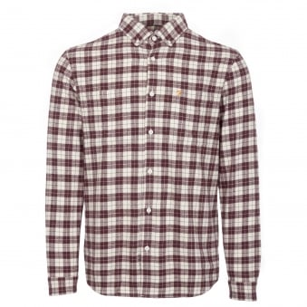 Red Coleville Flannel Shirt