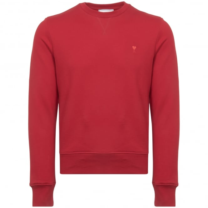 AMI Red De Coeur Sweatshirt