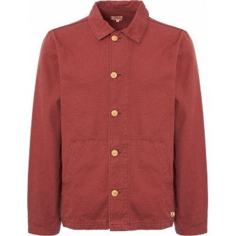 Red Heritage Fisherman's Jacket