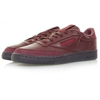 Reebok Club C 85 BS Burgundy Leather Shoe BD2530