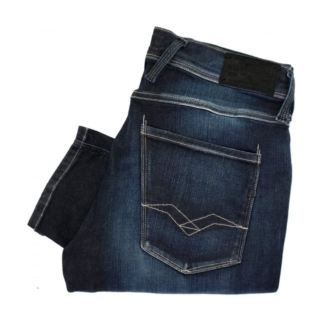 Replay Jeans Replay Anbass Hyperflex Slim Fit Jeans M914