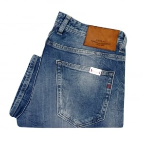 Replay Grover Red Cast Denim Jeans MA972 000