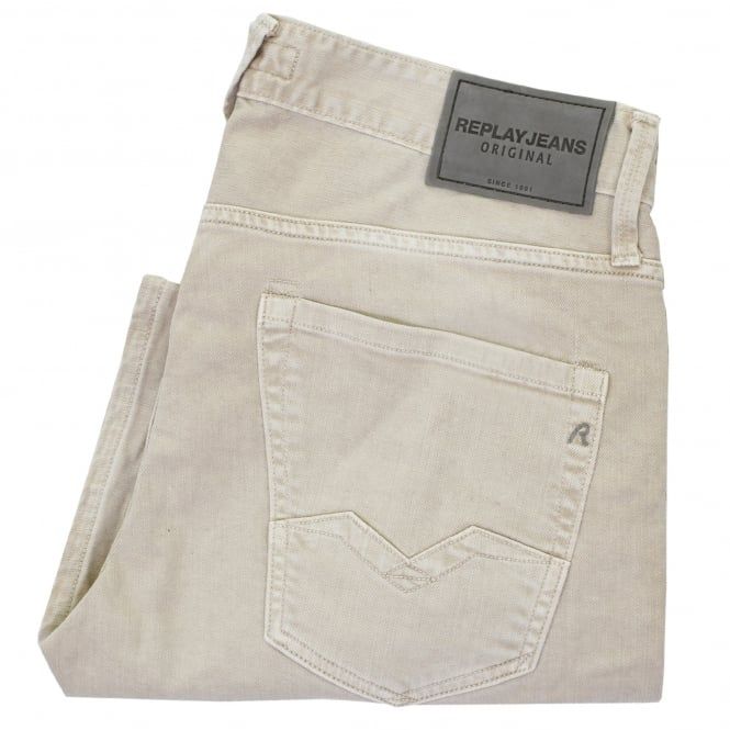 Replay Jeans Waitom Beige Jeans M983.010B