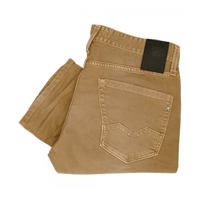 Replay Jeans Replay Waitom Camel Denim Jeans M983Z