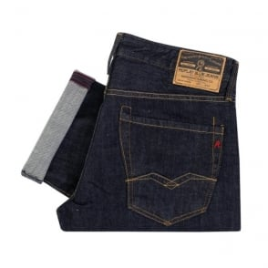 Replay Waitom Indigo Denim Jeans 11807D007