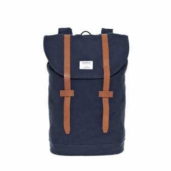 Sandqvist Stig Blue Canvas Bag SQA228