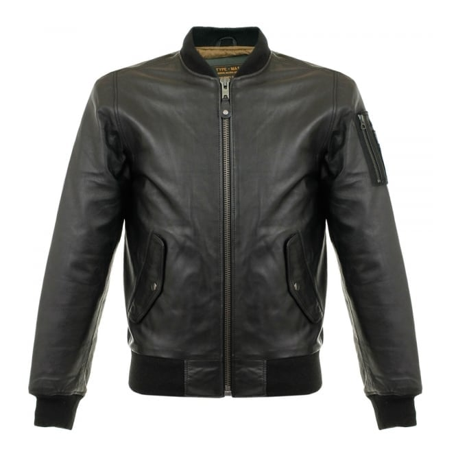 Schott NYC Schott LC 2305B Black Lambskin Leather Jacket LC2305B