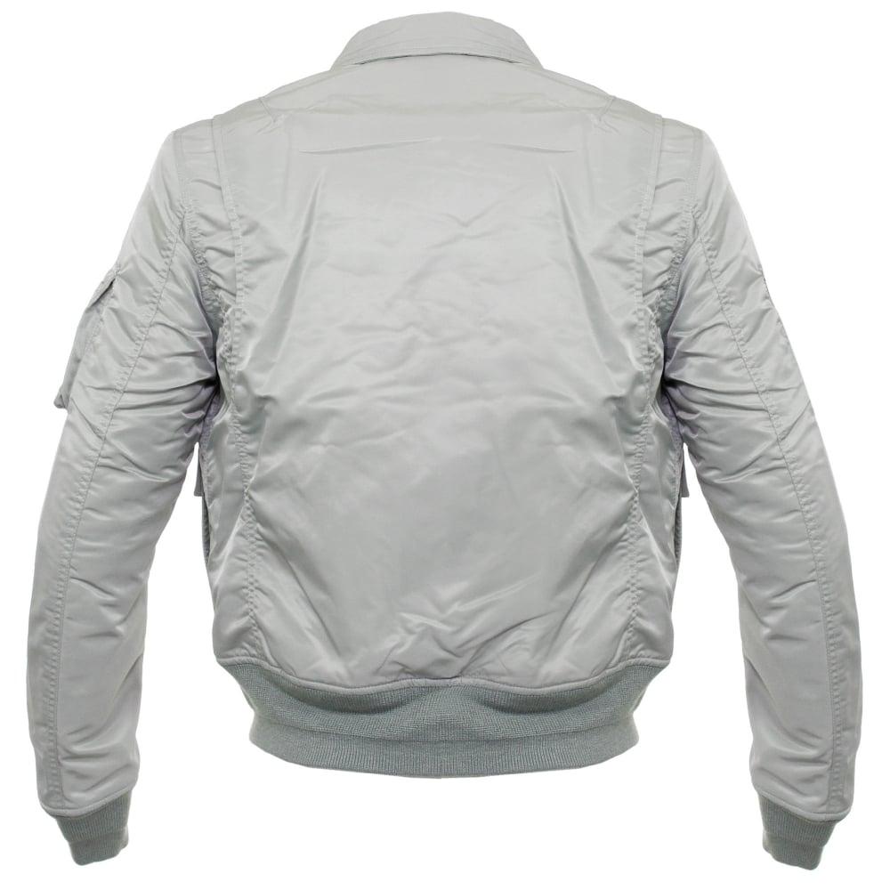 Schott Store Online | CWU-R Silver Bomber Flight Jacket