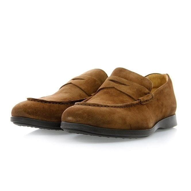 Sebago Teagues Camel Penny Loafer Shoe B160204