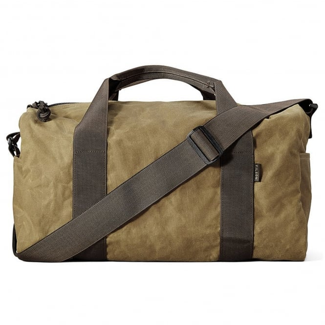 Filson Small Field Duffle - Dark Tan & Brown