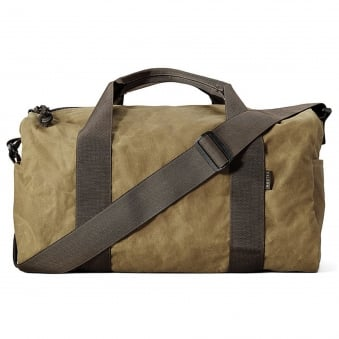 Small Field Duffle - Dark Tan & Brown