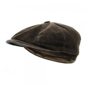 Stetson Hatteras Corduroy Ear Flap Flat Cap 6841118 6
