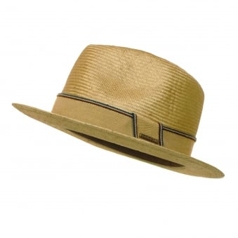 Stetson Natural Straw Trilby Hat 2148506 7
