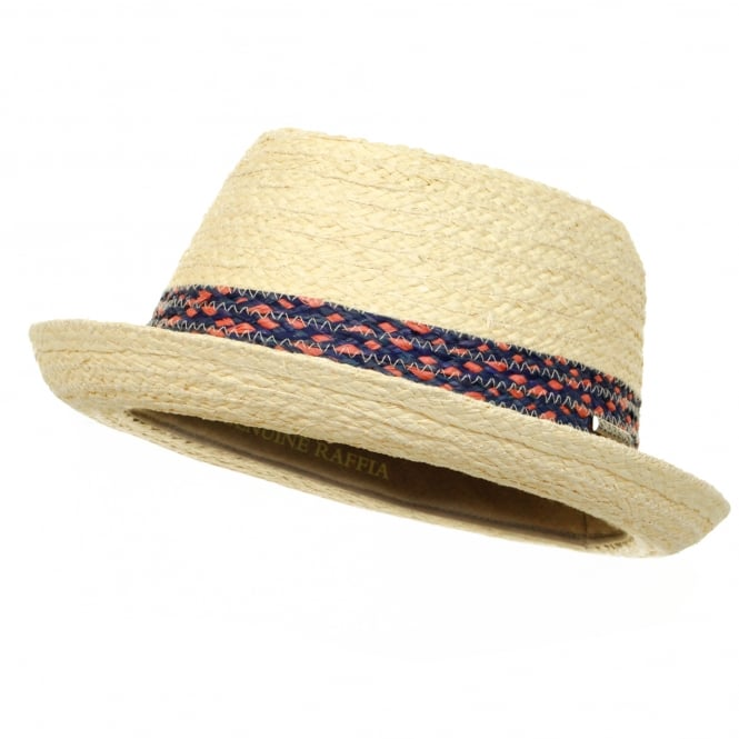 Stetson Hats Stetson Player Straw Trilby Hat 1338507 71