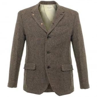 Still By Hand Mocca Wool Blazer JK0363OS