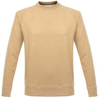 Still By Hand Raglan Camel Sweatshirt CS0363OS