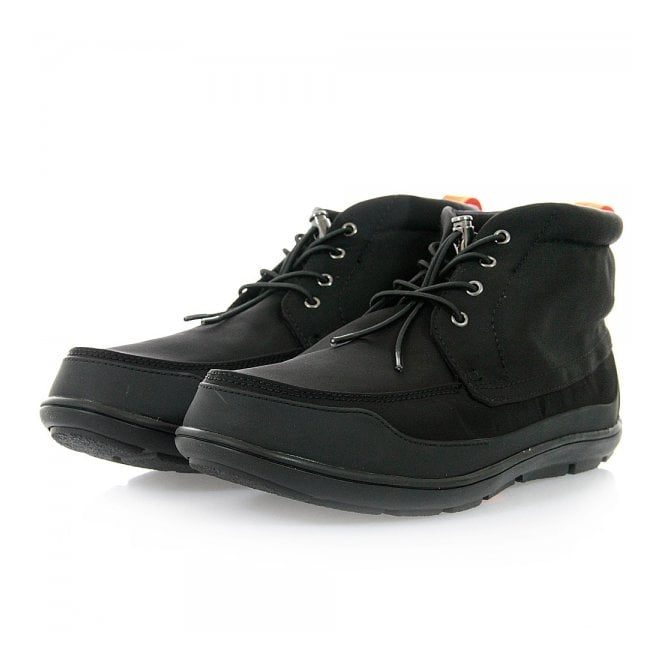 Swims Footwear Swims George Chukka Black Boot 21113