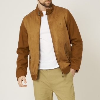 Tan Blake Harrington Jacket