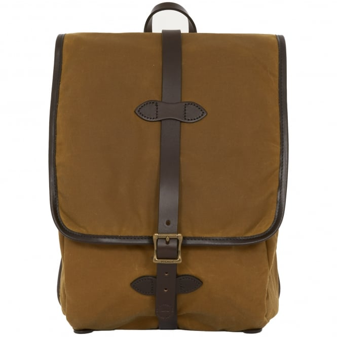 Filson Tan Tin Cloth Bag
