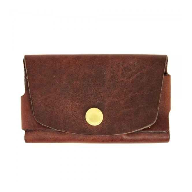 Tanner Goods Brown Card Holder