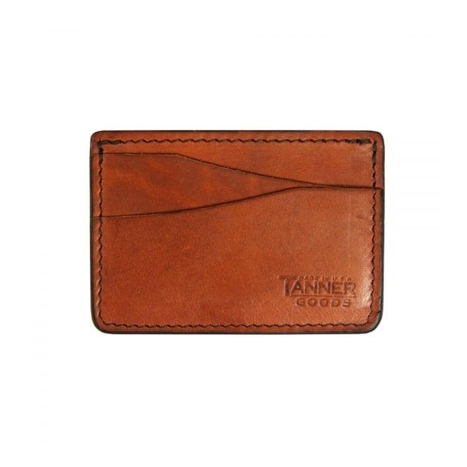 Tanner Goods Journeyman Chicago Tan Card Holder