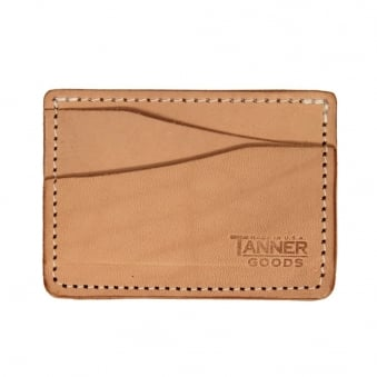 Tanner Goods Journeyman Natural Card Holder
