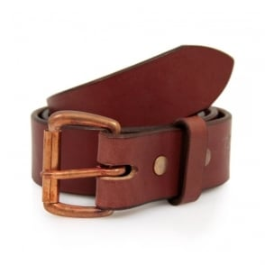Tanner Goods Standard Mahogany Leather Belt TGMB