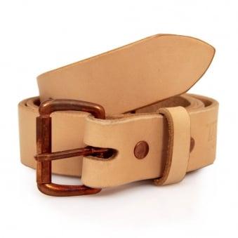 Tanner Goods Standard Natural Leather Belt TNSN