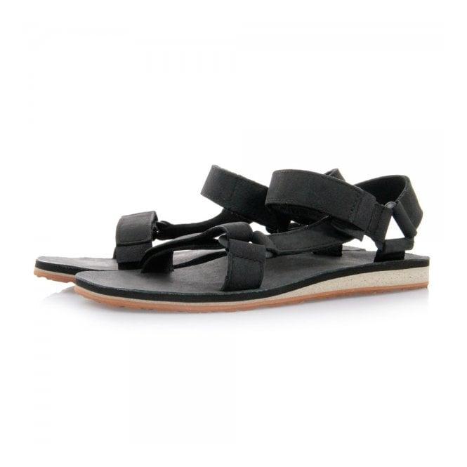 Teva Footwear Teva Original Universal Black Leather Sandals 1006315