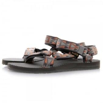 Teva Original Universal Mosaic Brown Sandals 1004006
