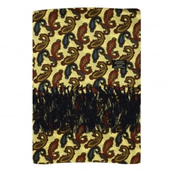 Tootal Vintage Paisley Clotted Cream Silk Scarf TL7901