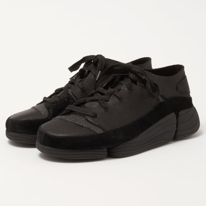 Clarks Originals Trigenic Evo Shoes - Black Leather