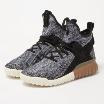 Tubular X Primeknit Black | Blue Trainers BY3145