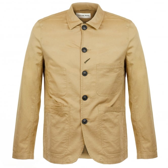 Universal Works Bakers Twill Sand Jacket 16102