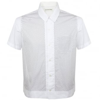 Universal Works Dickie Poplin White Shirt 14144