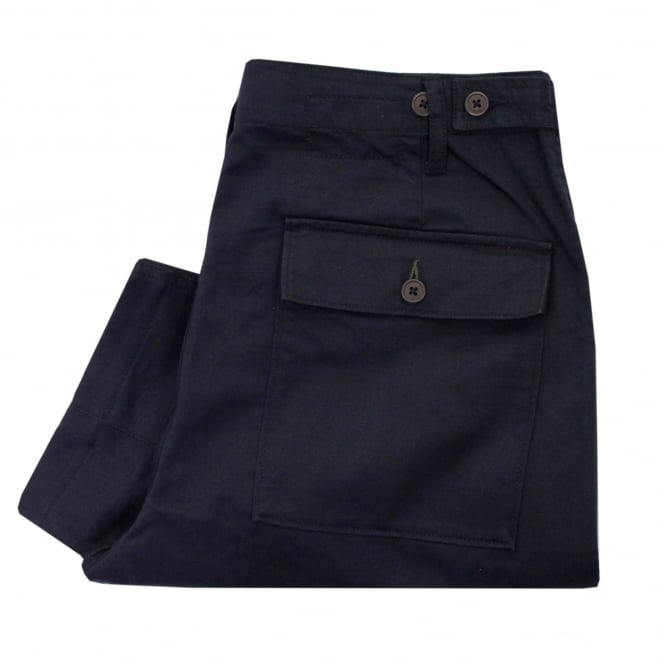 Universal Works Fatigue Navy Twill Pants 16132