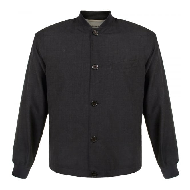 Universal Works Newark Tropical Wool Mix Charcoal Jacket 14509