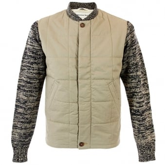 Universal Works Quilted Sport Chief Winter Twill Khaki Jacket 11065
