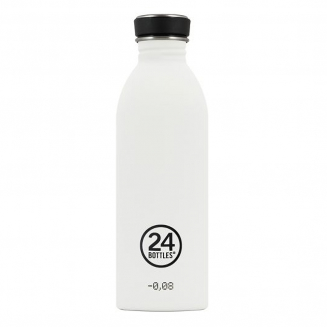 24 Bottles Urban Bottle - 500 ml - Ice White