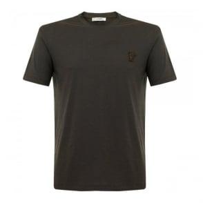 Versace Half Medusa Moka T-Shirt V800683