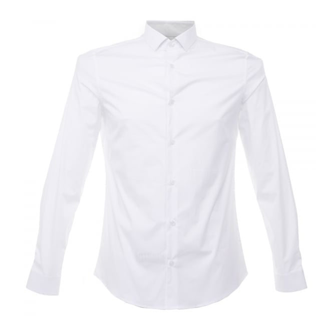 Versace Collection Versace White Poplin Shirt v300197