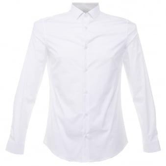 Versace White Poplin Shirt v300197